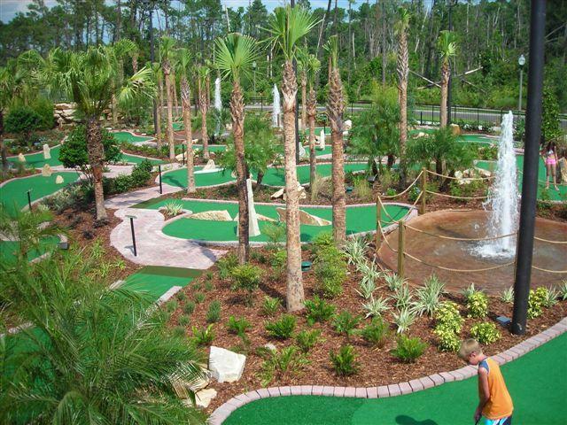 Miniature Golf Course Design Amusement Construction