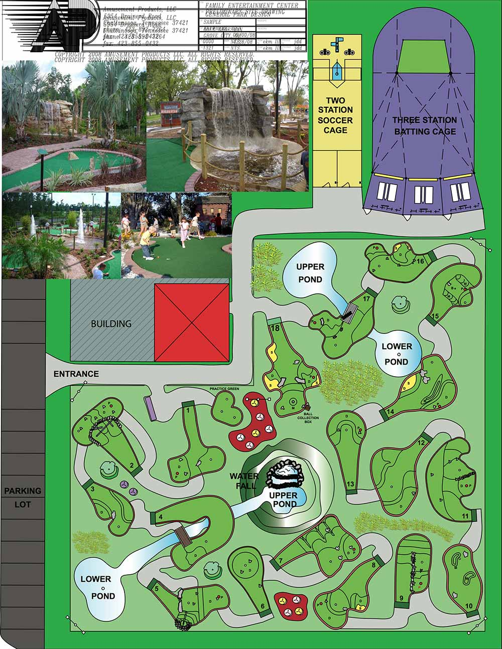 Miniature Golf Course Design - Amusement Construction